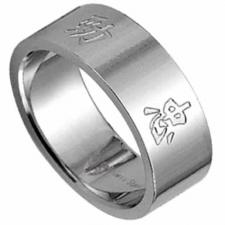 Stainless Steel ring - The 5 elements