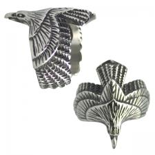 Men's Stainless Steel American Eagle Ring