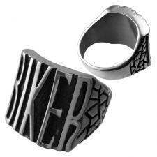 Stainless Steel Biker Ring