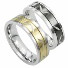 Stainless Steel Ring with PVD