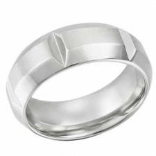 Stainless Steel Ring With Great Looking Design & Cut