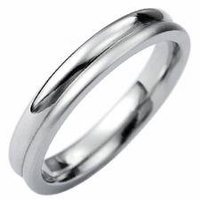 Stainless Steel Ring - 4mm Width