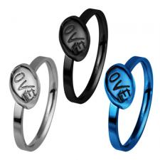 Stainless Steel Ring with