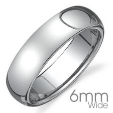 Stainless Steel Ring With Shiny Finish (5MM WIDE)