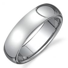 Plain Wedding Band in Stainless Steel