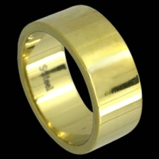 Gold PVD Stainless Steel Ring
