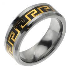 Wholesale Greek Design Tungsten Ring
