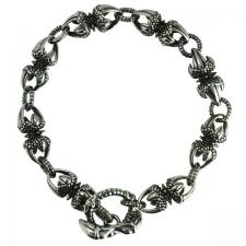 Stainless Steel Claw Bracelet