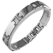 Stainless Steel Link Bracelet (8 IN)