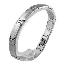 Stainless Steel Magnetic Bracelet (9 IN)