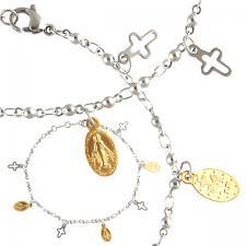 Stainless Steel religious Bracelet