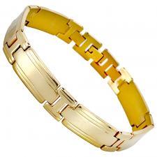 Stainless Steel Link Bikers Bracelet