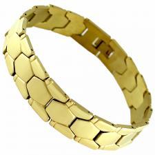 Stainless Steel Gold Bracelet