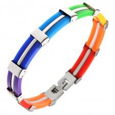 Wholesale Rainbow Pride Bracelet
