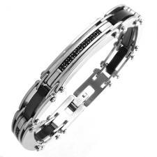 Bracelet with Black Stones