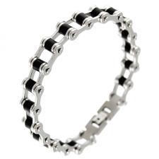 Stainless Steel Biker Chain Link Bracelet