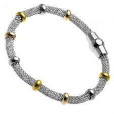 Snake Bracelet with Color Beads