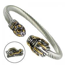 Men's Stainless Steel Dragon Bracelet