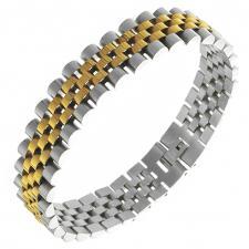 Stainless Steel 2 Tone Bracelet