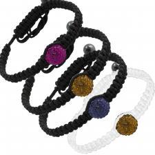 Braided Thread Macrame Bead Bracelet