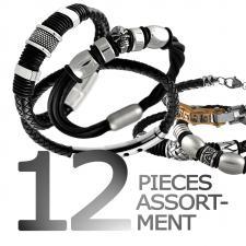 Stainless Steel Bracelet Pack 12Pcs