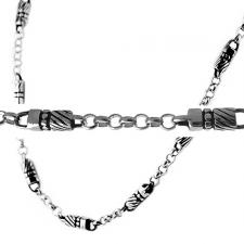 Stainless Steel Chain with Unique Design
