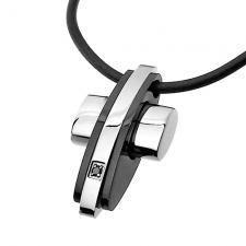 Modern Cross Necklace