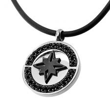 Northern Star Necklace with Silicone Cord