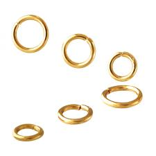 gold jump rings