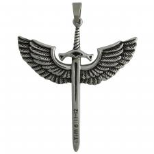 Wholesale pendant of Sword with wings