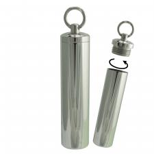 Stainless Steel Pill FOB Pendant