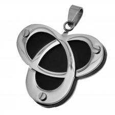 Stainless Steel Pendant with Triquetra or Triangle Shape