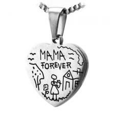 Pendant with Childs Sketch