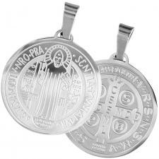 St. Benedict / San Benito Medallion Pendant