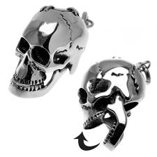Skull Pendant in Stainless Steel