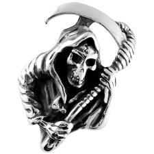 Stainless Steel Grim Reaper Pendant