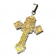 Dia de los Muertos Cross Pendant