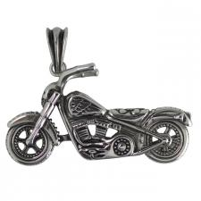 Stainless Steel Motorcycle Chopper Pendant