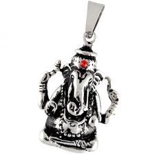 Ganesh Stainless Steel Pendant