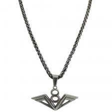 Stainless Steel 8 Wing Necklace