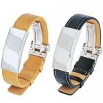 Stainless Steel / Leather Bracelet