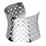 Stainless Steel Star Bangle
