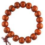 Light Reddish Wood Prayer Bracelet