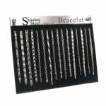 Acrylic and Velvet Display for Bracelets - Holds 16 pieces(Not included)