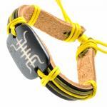 Tribal Leather Bracelet