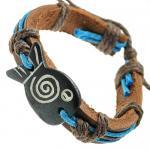 Fish Leather Bracelet