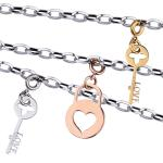 Stainless Steel Charm Necklace
