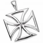 Stainless Steel Pendant - Maltese Cross Design