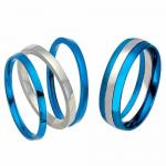 Stainless steel cutting ring - Ring splits to 3 parts
