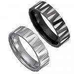 Stainless Steel Ring With Carvings On It--Available in 2 Colors!